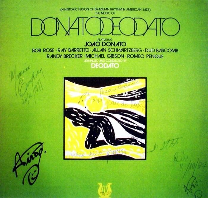 Eumir Deodato* Deodato - Also Sprach Zarathustra / Rhapsody In Blue