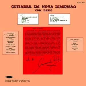 Dario - Guitarra em Nova Dimensao (1968)-BACK