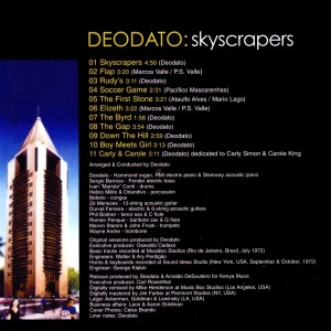 Eumir Deodato - SkyScrapers (1973)-BACK