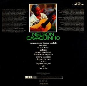 Nelson Cavaquinho - Serie Documento (1972)-BACK