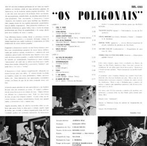Os Poligonais - Os Poligonais (1964)-BACK