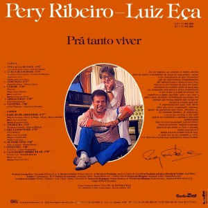 Pery Ribeiro - Luiz Eca - Pra Tanto Viver (1986)-BACK