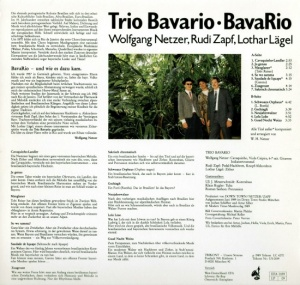 Trio Bavario - Bavario (1989)-BACK