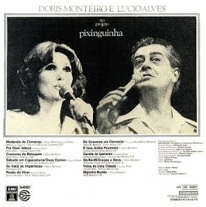 Doris Monteiro e Lucio Alves no Projeto Pixinguinha (1978)-BACK