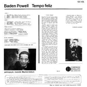 Baden Powell - Tempo Feliz (1966)-BACK