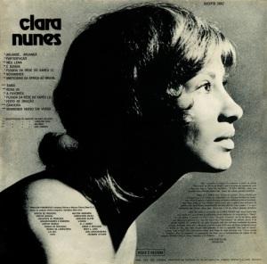 Clara Nunes - Clara Nunes (1971)-BACK