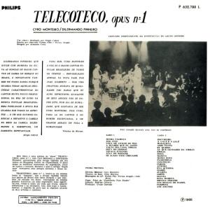 Cyro Monteiro e Dilermando Pinheiro - Show Teleco Teco Opus Nr. 1 (1966)-BACK