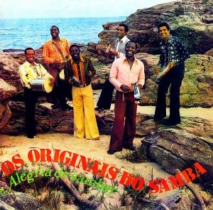 Os Originais do Samba - Alegria de Sambar (1975)-FRONT