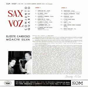 Elizeth Cardoso & Moacyr Silva - Sax Voz_2