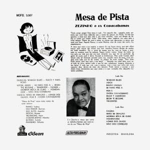 Zezinho & Os Copacabana - Mesa De Pista_2