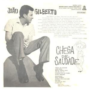 João Gilberto - Chega De Saudade -Back