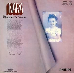 Nara Leão - Meu Primeiro Amor-1975-Back