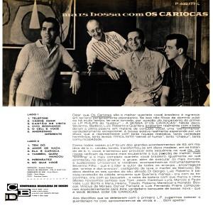 Os Cariocas - Mais Bossa Com Os Cariocas-Back
