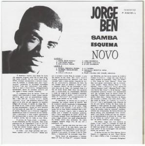 Jorge Ben - Samba Esquema Novo-Back